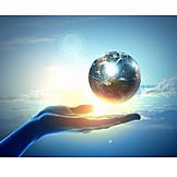 Erde, Umweltschutz, Verantwortung, Planet, Schöpfung