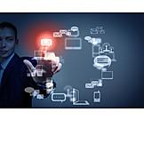 Nachricht, Versenden, Wireless, Datentransfer