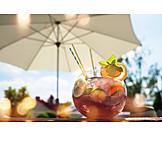 Fruchtig, Bowle, Sommergetränk