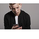Teenager, Mobiltelefon, Soziales Netzwerk