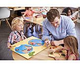 School, Preschool, Geography, Teaching