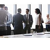 Meeting, Handschlag, Geschäftsleute, Begrüßung