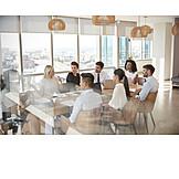 Office, Meeting, Team, Brainstorming
