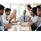 Teamwork, Diskussion, Besprechungsraum, Brainstorming