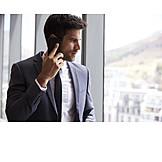Businessman, Business, Phone Call