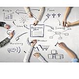 Business, Teamwork, Plan, Strategy, Businessplan