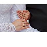 Hold, Wedding Couple, Diamond Ring