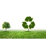 Umweltfreundlich, Recycling, Wiederverwertung, Nachhaltigkeit