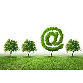 Dienstleistung, E-mail, ökostrom, Datenstrom, Anbieter