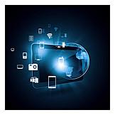 Medien, Verschlüsselung, Datenspeicherung