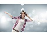 Music, Listening To Music, Rhythm, Happiness