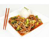 Asian Cuisine, Rice Dish