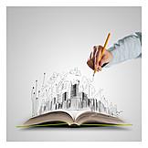 Architecture, Statics, Draft, Calculation