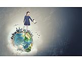 Child, Earth, Environment, Future, Globe
