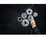 Business, Gear, Strategy, Gear , Concept