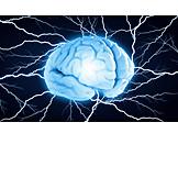 Energy, Lightning, Recharge, Brain