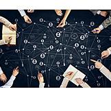 Zusammenarbeit, Organisation, Teamwork, Kontakte, Management, Soziales Netzwerk