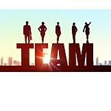 Team, Company, Colleagues