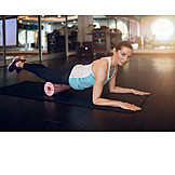 Stretching, Workout, Fasciaroller