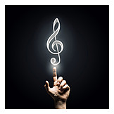 Music, Clef, Playing Music, Compose