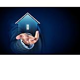 Eigenheim, Immobilienmakler, Hausverwaltung, Gebäudeversicherung