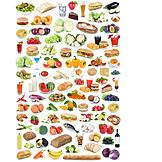 Healthy Diet, Fast Food, Food