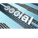 Binary Code, Social Network