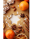 Pastry crust, Christmas cookies, Gingerbread, Excelled