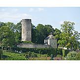 Castle, Rupt, Sur, Saône