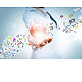 Medien, Internet, Www, Multimedia, Datenerfassung, App, Big Data