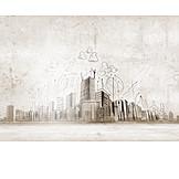 Architecture, Sketch, Draft