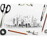 Architecture, Draft, Measurements