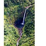 Waterfall, Hawaii Islands, Akaka Falls