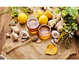 Honig, Hausmittel, Ingwer, Alternative Medizin, Zitrone