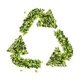 Umweltschutz, Recycling, Recyclingsymbol, Entsorgungswirtschaft