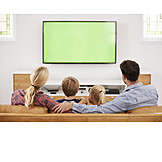 Watching Tv, Family