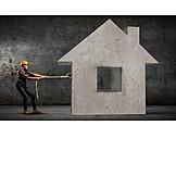 Effort & Trouble, Job & Profession, House, Building Activity, Architect