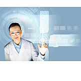 Touchscreen, Medical, Control, Doctor, Enabling