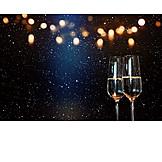 Sekt, Silvester, Sektglas, Champagner