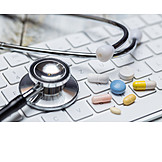 Behandlung, Medikamente, E-health