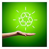 Recycling, Umweltbewusst, Recyclingsystem