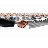 Cooperation, Handshake, Deal, Merger