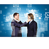 Communication, On The Phone, Business Partnership