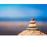 Wellness & Relax, Steine, Balance, Steinmännchen