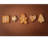 Gingerbread, Christmas cookies, Gingerbread cookie, Christmas motifs