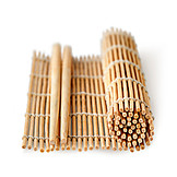 Asian Cuisine, Bamboo Mat, Chopsticks