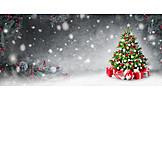 Gifts, Christmas tree