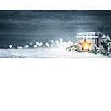Advent, Candlelight, Christmas decoration