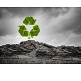 Environmental Damage, Environment Protection, Recycling, Recycling Code