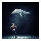 Rain, Bad Weather, Rain Cloud